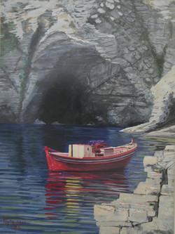 Η κόκκινη βάρκα Τέμπερα- Κώστας Γαρύφαλλος