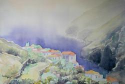 Αιωρούμενο χωριό, Ακουαρέλα