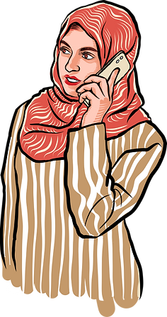 Woman in Hijab on smartphone.png
