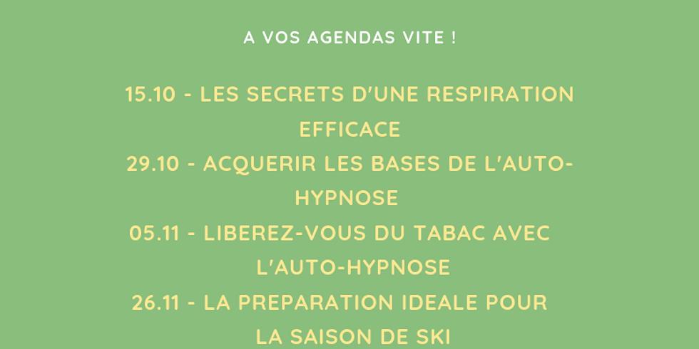 Programme des ateliers-santé 2019