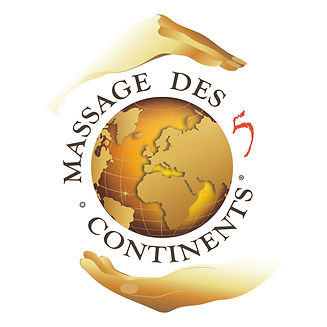 MASSAGE DES 5 CONTINENTS - Logo COUL - R