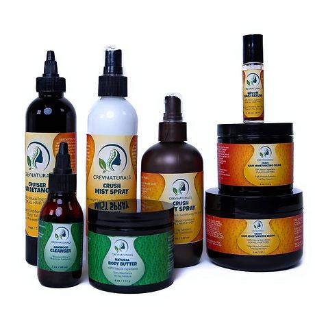 crevnaturals product range 2020