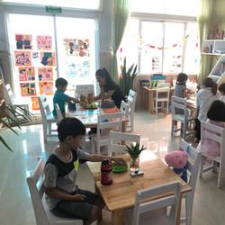 Kinder Kids Classroom