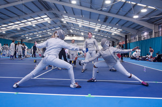 Ponds Forge International Sports Centre-photography-Fencing