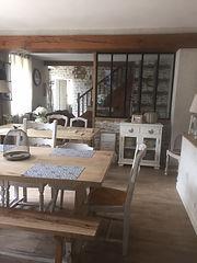 salle à manger gîte blois