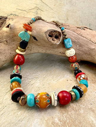 listed website - necklace - multicolor t
