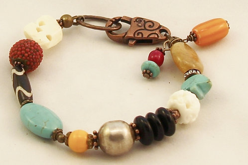 Handcrafted Southwest Theme Bracelet