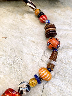 listed website - necklace - multicolor p