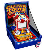 Clown Tooth Knock Out Carnival Event Game