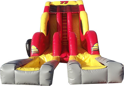 Giant Monster Racer Dry Slide Event Rental
