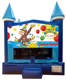 Curious George Bouncers