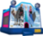 Frozen Bounce House Event Rental