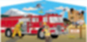 Fire Truck Inflatables to rent!