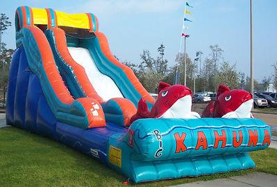 Big Kahuna Giant Corporate Carnival Event Slide Rental
