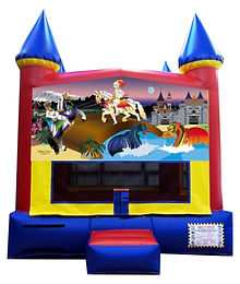 Knights and Dragons Inflatable Rentals