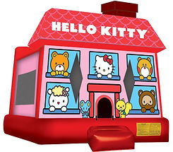 Hello Kitty Bounce House Corporate Carnival Event Rentals
