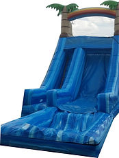 17' Blue Paradise Water Slide Rental
