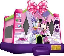 Minnie Mouse Bounce House Event Rental