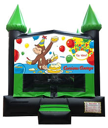 Curious George Inflatable Rentals