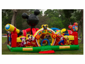 Corporate Event Ideas for toddlers like Mickey Park Inflatables