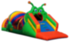 Caterpillar Craze Obstacle Course Event Rental