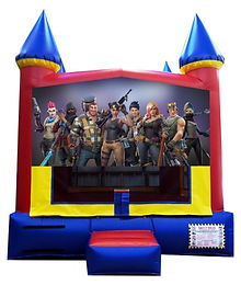 Fortnite Inflatable Rental