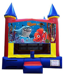 Finding Nemo and Dory Inflatable Rentals