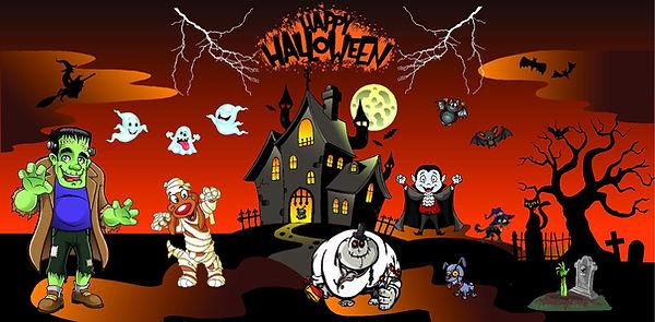 Halloween Fall Festival Bouncy castle rental