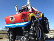 Monster Truck Inflatable Rental