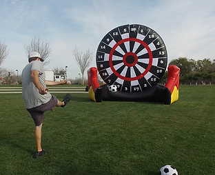 Soccer Dart Inflatable Game Rental