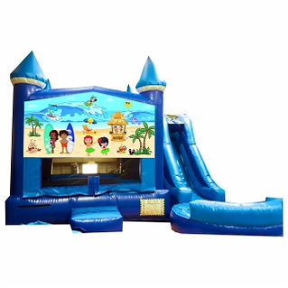 Luau Beach Party Inflatable Event Rentals