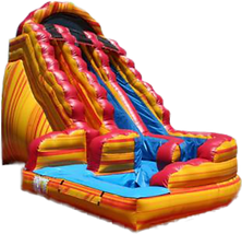 Wild Rapids Giant Inflatable Water Slide