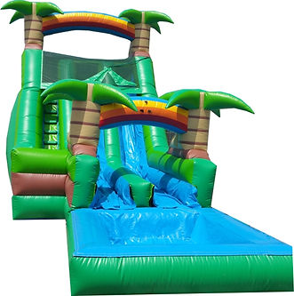 18' Tropical Slide Rental