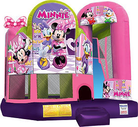 Minnie Mouse Corporate Carnival Event Inflatable Rental