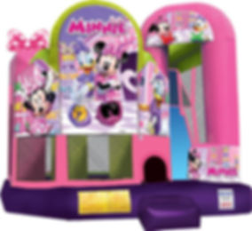 Minnie Mouse Jump and Slide