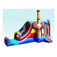 Corporate Event Sports Inflatable Bouncer Combo Rentals are jumptastic