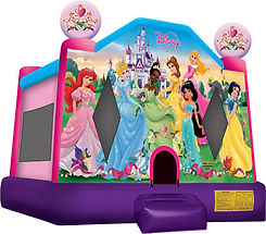 Disney Princess Bounce House Corporate Carnival Event Rentals