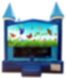 Butterfly Bounce House Inflatable Rentals