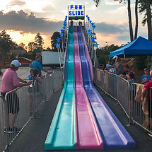 Cherokee County Giant Fun Slide Rentals.