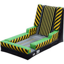 High Voltage Velcro Wall Inflatable Game Rental