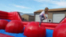 Wipe Out Inflatable Game