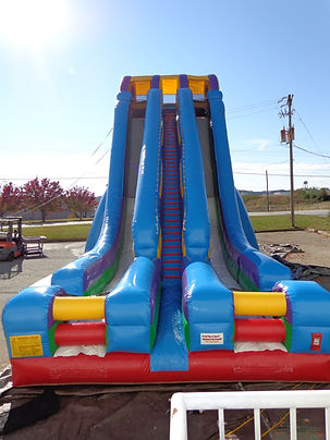 The Edge Giant Inflatable Corporate Carnival Event Slide Rental