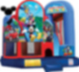 Mickey Mouse Clubhouse Corporate Event Inflatable Rental