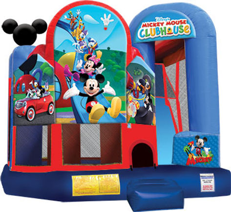 Mickey Mouse Jump and Slide
