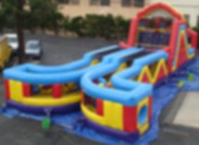 Mega Obstacle Course Event Rental