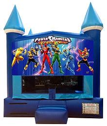 Power Rangers Inflatable Rentals