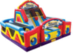 Mega Obstacle Course Carnival Event Rental