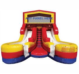 Inflatable Slide Double Lane
