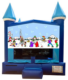 Winter Themed Inflatable Rentals