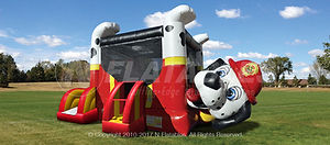 Fire Dog Belly Bouncer Rental